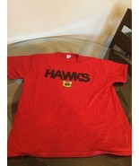 """Chicago Blackhawks Red """"Hawks"""" T-Shirt XL Excellent Condition - $9.89"""