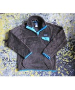 Womens Patagonia Snap T Re Tool Textured Fleece Brown & Blue sz XS  - $63.36