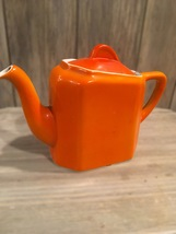 Vibrant and Vintage Halls Orange Teapot  - $30.00