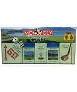 MONOPOLY GOLF Edition BOARD GAME 6 Collectible Pewter Tokens NEW Sealed ... - $29.69
