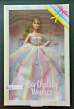 Mattel Barbie Signature Birthday Wishes Doll New in Package Unopened Bd9 - $49.49