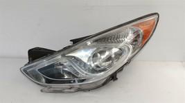 11-15 Hyundai Sonata Hybrid Projector Headlight Driver Left LH - POLISHED