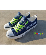 Seattle seahawks shoes seahawks sneakers super bowl fashion birthday gif... - $55.00+