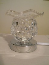 TOUCH Clear Electric Fragrance Oil Burner Glass Ball Tart Warmer - $26.99