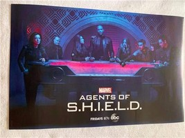 "AGENTS OF S.H.I.E.L.D - 13""x20"" Original Promo TV Poster SDCC 2019 Marve... - $14.69"