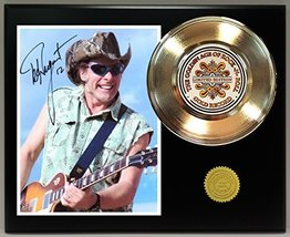 Ted Nugent Gold Record Reproduction Signature Series LTD Edition Display - $85.45