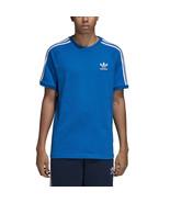 Adidas Originals Men's 3-Stripes Tee Blue Bird-White dh5805 - $24.95