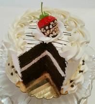Sliced Fake Cake Vanilla Chocolate Strawberry with Choc Drizzle - $26.72