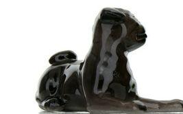 Hagen Renaker Dog Pug Baby Black Ceramic Figurine image 7