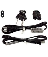 6Ft 2 Prong AC Wall Power Cable 2 Slot Cord for Lenovo HP Dell Samsung S... - $9.56