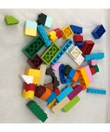 Lego Lot 54 pieces Bright Colors Building Blocks Toy Play  - $12.86