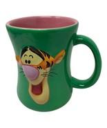 Disney Winnie the Pooh TIGGER TIME 3D Two Sided Ceramic Coffee Tea Mug - $10.00