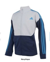 XL adidas Big Boys Zip Front Uplift Tricot Jacket BNWTS $45.00 - $29.69