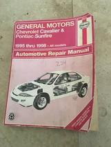 Haynes Service Repair Manual General Motors Chevrolet Cavalier Pontiac S... - $9.89