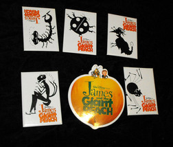 Disney James & The Giant Peach Buttons Pins Lot - $17.99