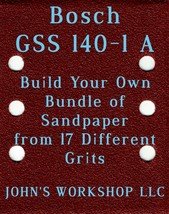 Build Your Own Bundle Bosch GSS 140-1 A 1/4 Sheet No-Slip Sandpaper 17 Grits - $0.99