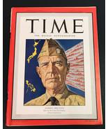 Vintage Time Magazine June 1944 Admiral Sruance Cover - $44.57