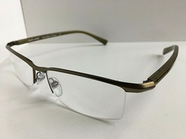 New ALAIN MIKLI AL 0888 AL0888 0006 56mm Bronze Semi-Rimless Eyeglasses Frame - $389.99