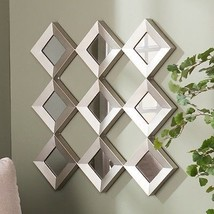 Metal-Wall-Sculpture-Contemporary-Art-Home-Deco... - $89.05