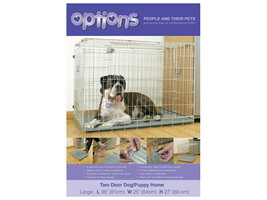 Options Two Door Dog/pup Home Small 56 X 45 X 51cm - $58.66