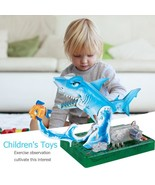 Kids DIY Craft Toys Fun Marine Animal Kid DIY Creative Origami Electric ... - $24.70