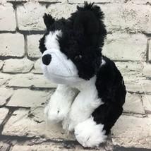 Harley Davidson French Bulldog Puppy Dog Plush Black White Beanbag Stuff... - $11.88
