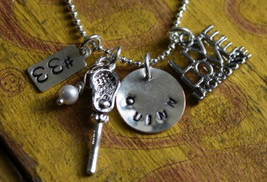 Lacrosse Mom Sterling Silver Necklace LAX Player Girlfriend - $35.00