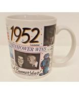 1952 Coffee Mug History Eisenhower Banner News Party Gift 67 Birthday Re... - $29.69