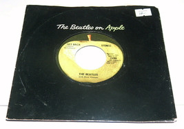 45 RPM The Beatles Don'T Let Me Down, Get Back Capital Record 2490 Ex W/... - £14.46 GBP
