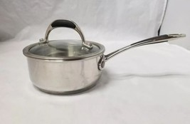 Grand Gourmet 1 Qt Saucepan, Glass Lid, Stainless Steel, 1 Quart, Sauce Pan - $24.18