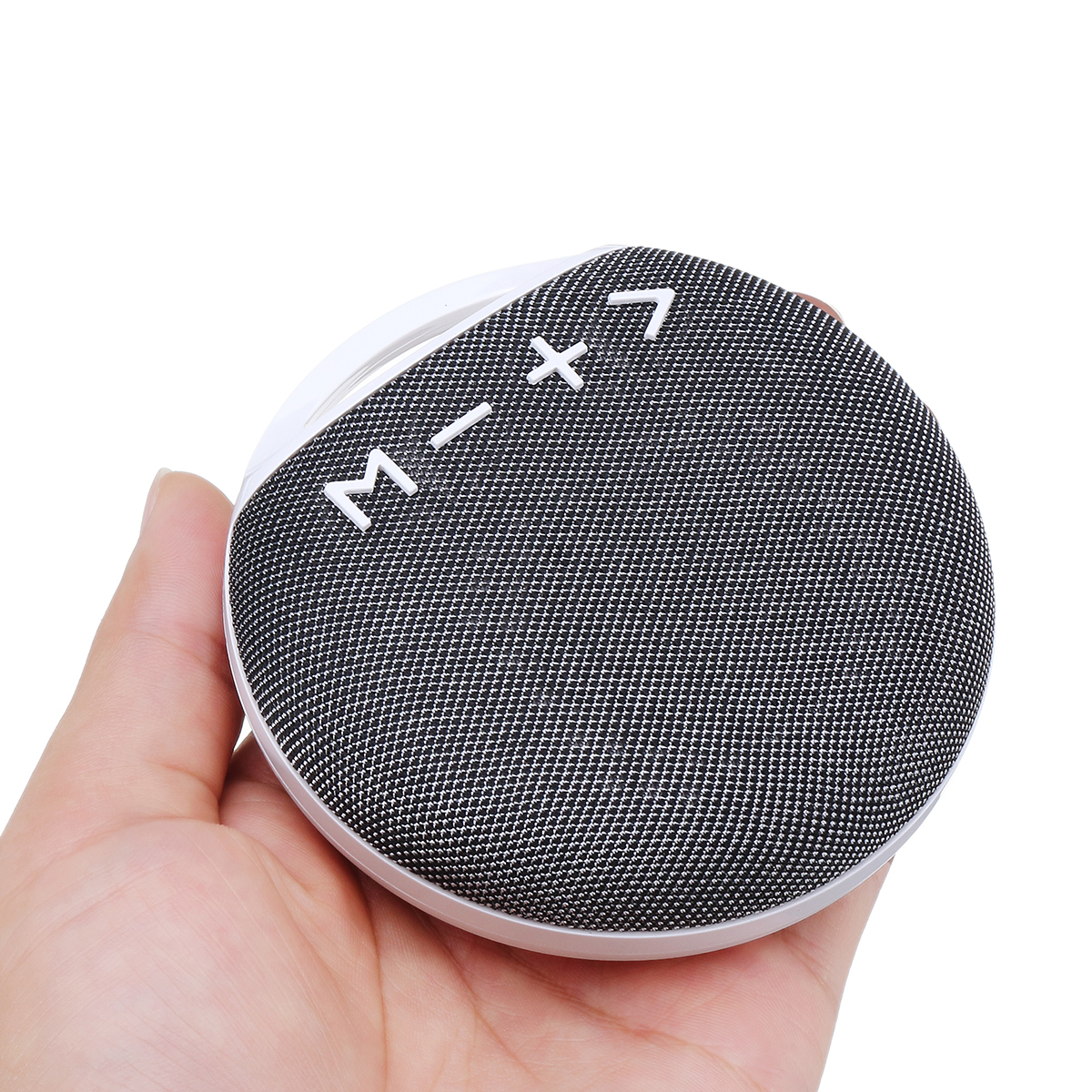 Portable Mini Outdoor Wireless Bluetooth Stereo Cloth Speaker with Lanyard Strap