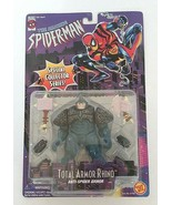 Marvel Comics Spider-Man Total Armor Rhino Action Figure Toy Biz 1996 - $30.00