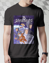 80s cartoons tv shows Silver Hawk Classic Cartoons T-SHIRT MEN BLACK - $9.99+