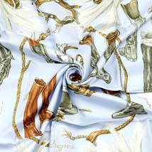 Hermes Scarf A PROPOS DE BOTTES 90cm Silk Foulard Carre XAVIER DE PORET - $379.95