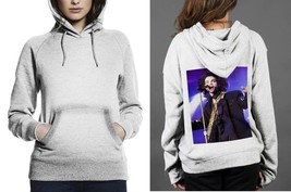 Classic Hoodie White women Purple Rain Sing A Song - $28.99