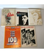 Elvis Presley Book Lot History The Boy Who Dared To Rock Elvis in Concert  - $29.99