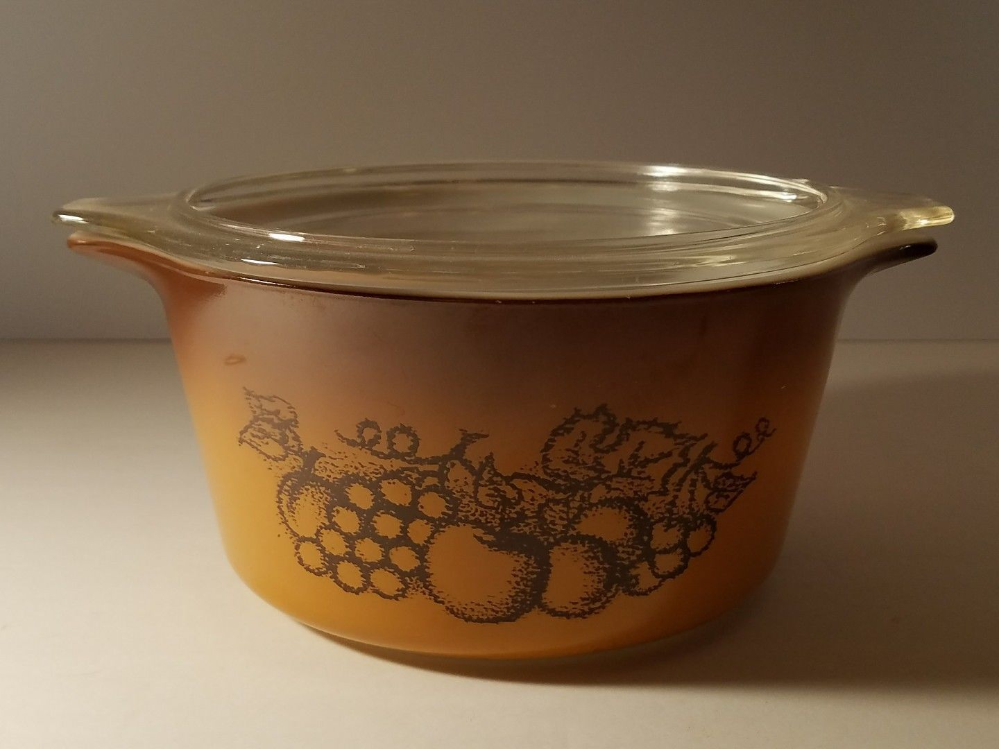 Vintage Pyrex Ovenware Old Orchard Casserole and 24 similar items. S l1600