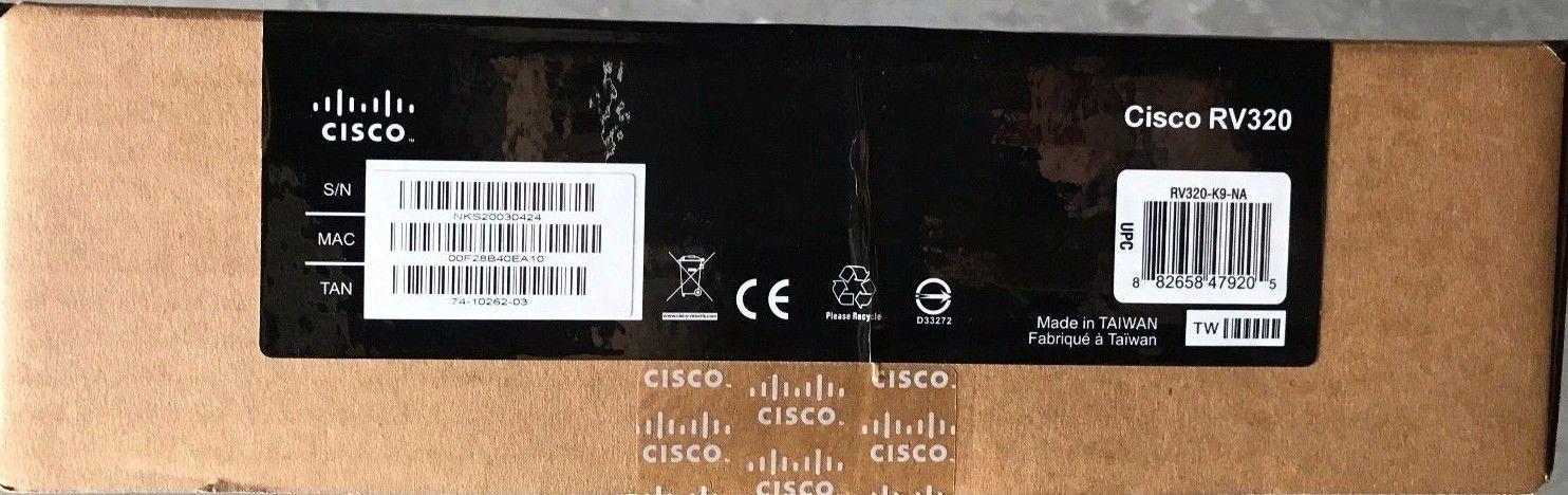 Cisco - RV320 - Duale Gigabit Wan Vpn Router and 50 similar