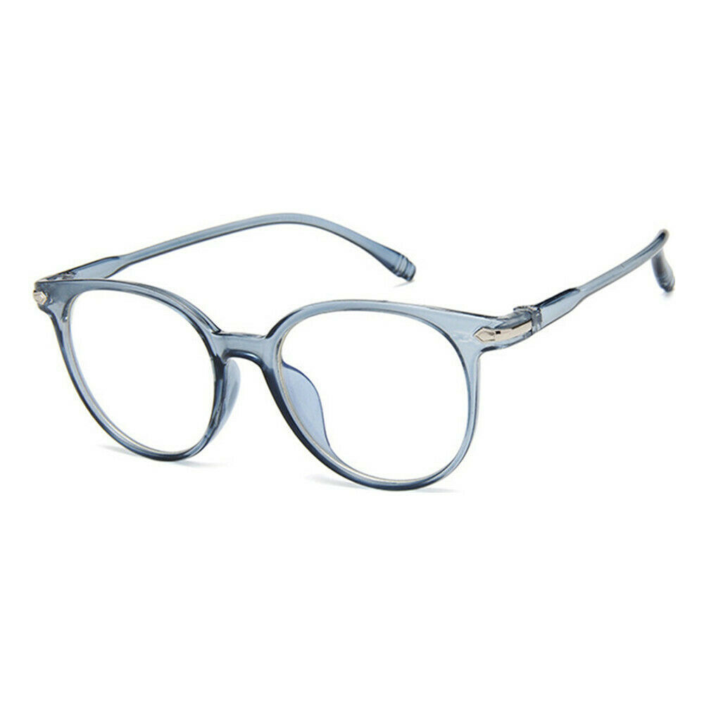 New Oval Fashion Classic Clear Lens Glasses Frame Retro Casual Daily Eyewear