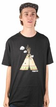Primitive Apparel Puff T-P Hombre Graphie Camiseta Nwt