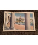 Vintage Postcard Unposted N110 Capitol Building From Civic Center Denver Co - $0.94