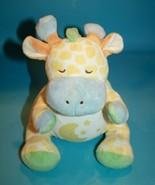 "Bright Inspirations Giraffe 10"" Soft Toy Plush Stuffed No Sound Moon Tum... - $18.35"