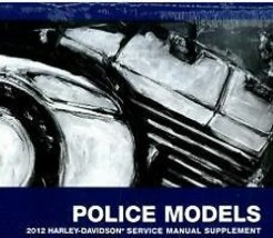 2012 Harley Davidson Flhtp Electra Glide Police Service Manual Supplement New - $143.50