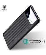 Quick Charger 3.0 Power Bank 10000 mAh Dual USB Powerbank External Phone... - $36.95