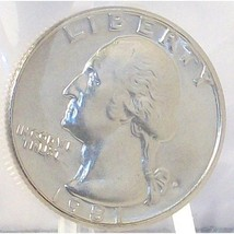 1981-P Washington Quarter MS65 In the Cello #459 - $4.79