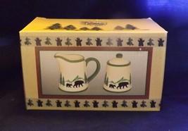 May Rich Company Ceramic Bear Motif -- New -- Cream & Sugar - $12.34