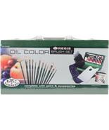 Wooden Box Art Set-Oil Color 30pc - $56.98