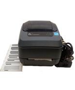 Zebra GX430t Monochrome Desktop Direct Thermal Printer 300 Dpi Resolutio... - $216.99