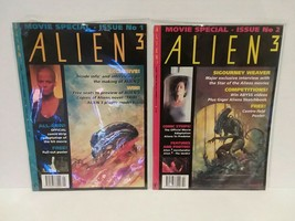 ALIEN 3 MAGAZINES #1 AND #2 + ALIENS:THIS TIME IT'S WAR MAGAZINE - FREE ... - $18.70