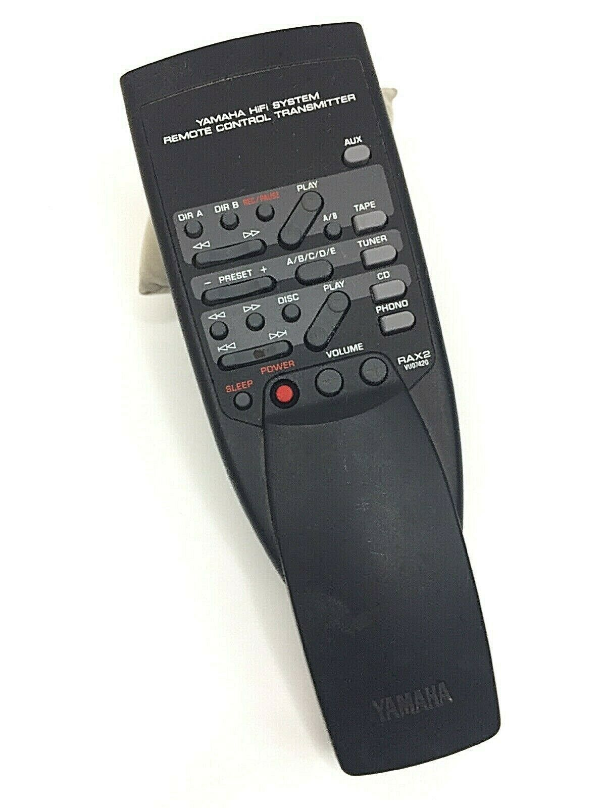 Yamaha Remote Control: 1 customer review and 77 listings
